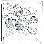 Ausmalbilder Comicfigure - 101 Dalmatiner 2