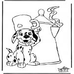 Ausmalbilder Comicfigure - 101 Dalmatiner ausmalbilder