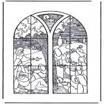 Bibel Ausmalbilder - 5 kluge und 5 dumme Jungfrauen