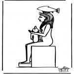 Allerhand Ausmalbilder - Ägypten 3