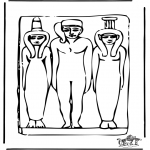 Allerhand Ausmalbilder - Ägypten 4