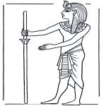 Allerhand Ausmalbilder - Ägypter 1