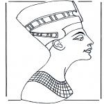 Allerhand Ausmalbilder - Ägypter 2