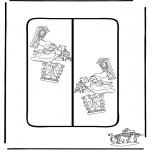 Ausmalbilder Comicfigure - Alice Buchzeichen