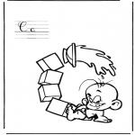Allerhand Ausmalbilder - Alphabet C