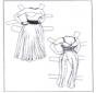 Ankleidpuppe Kleider 1