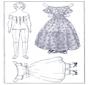 Ankleidpuppe und Kleider 1