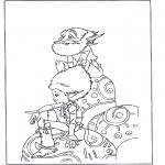 Ausmalbilder Comicfigure - Artus und die Minimoys 1