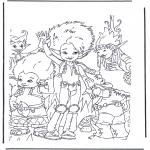 Ausmalbilder Comicfigure - Artus und die Minimoys 2