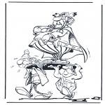 Ausmalbilder Comicfigure - Asterix 1