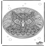 Malvorlagen Mandalas - Ausmalbilder mandala