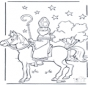 Ausmalbilder Sankt Nikolaus