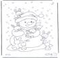 Ausmalbilder schnee gratis