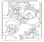 Ausmalbilder weihnachtsmann