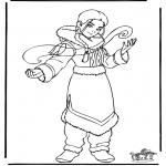 Ausmalbilder Comicfigure - Avatar 2
