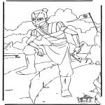 Ausmalbilder Comicfigure - Avatar 6