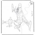Allerhand Ausmalbilder - Avro CF-100