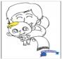 Baby malvorlage 2