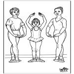 Allerhand Ausmalbilder - Ballett 11