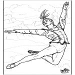 Allerhand Ausmalbilder - Ballett 8