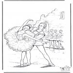 Allerhand Ausmalbilder - Ballett ausmalbilder