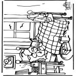 Ausmalbilder für Kinder - Bärchen Paddington 5