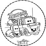 Basteln Stickkarten - Basteln Cars