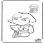 Basteln Dora malen