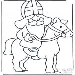 Basteln Stechkarten - Basteln pferde