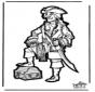 Basteln Pirat