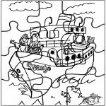 Basteln Stechkarten - Basteln puzzle