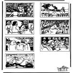 Bibel Ausmalbilder - Bibel Ausmalbild 2