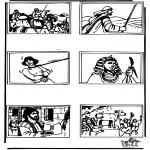 Bibel Ausmalbilder - Bibel Ausmalbild 4