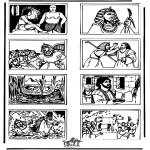 Bibel Ausmalbilder - Bibel Ausmalbild 5