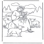 Bibel Ausmalbilder - Bibel malvorlagen David