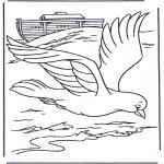 Bibel Ausmalbilder - Bibel Malvorlagen die Arche Noah