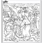 Bibel Ausmalbilder - Bibel Malvorlagen  Jakob