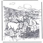 Bibel Ausmalbilder - Bibel malvorlagen Palmsonntag