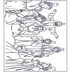 Bibel Ausmalbilder - Bibel Malvorlagen Pfingsten