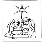 Bibel Ausmalbilder - Bibel malvorlagen Weihnachten