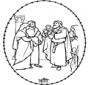 Bibel Stickkarte 1