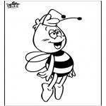 Allerhand Ausmalbilder - Biene Maja 4
