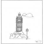 Allerhand Ausmalbilder - Big Ben