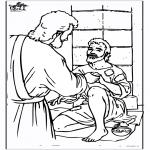 Bibel Ausmalbilder - Blinden