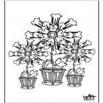 Allerhand Ausmalbilder - Blumen 5