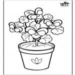 Allerhand Ausmalbilder - Blumen 6