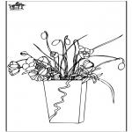 Allerhand Ausmalbilder - Blumen 7