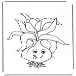 Allerhand Ausmalbilder - Blumenzwiebel