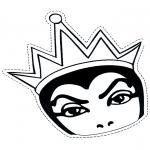 Malvorlagen Basteln - Böse Königin