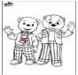 Braunbär und sein Freund